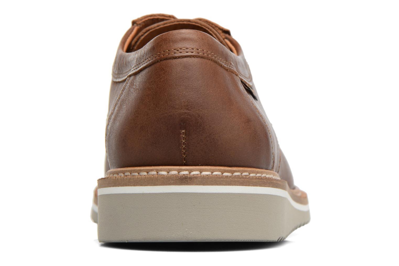 Chaussures à lacets Mephisto Enzo Marron vue droite