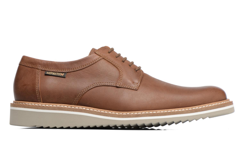 Chaussures à lacets Mephisto Enzo Marron vue derrière