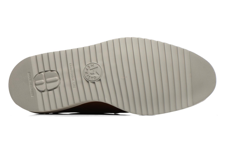 Chaussures à lacets Mephisto Enzo Marron vue haut