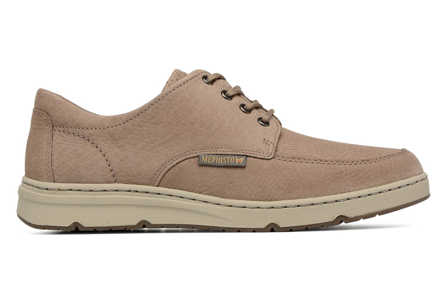 Lace-up shoes Mephisto Justin Beige back view