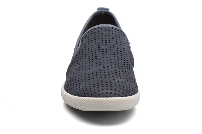 Mocassins Mephisto Ulrich Bleu vue portées chaussures