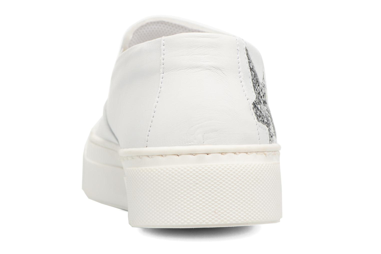 Sneaker Bronx Byardenx weiß ansicht von rechts