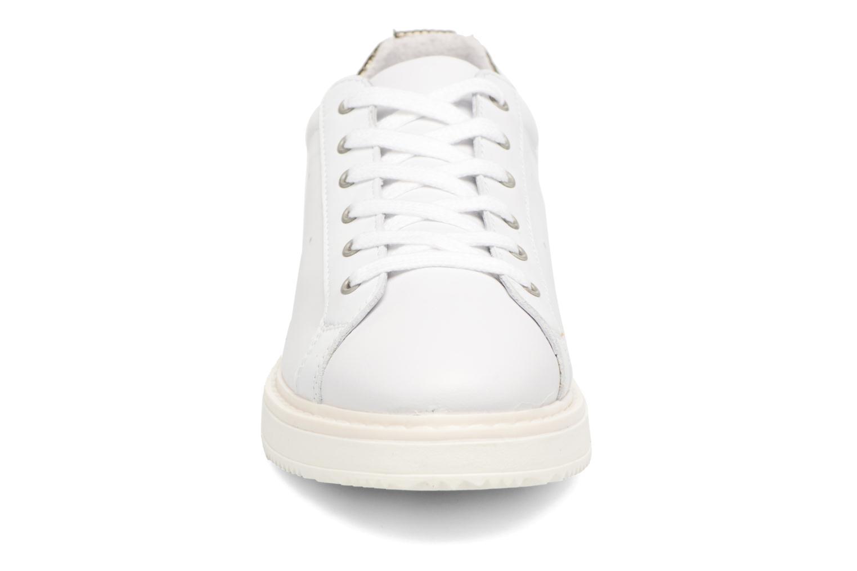 Baskets Bronx Bduckx Blanc vue portées chaussures