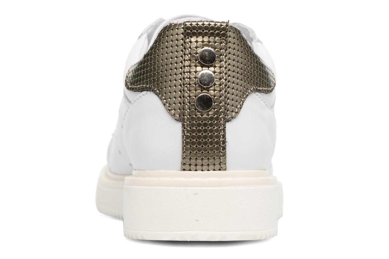 Baskets Bronx Bduckx Blanc vue droite