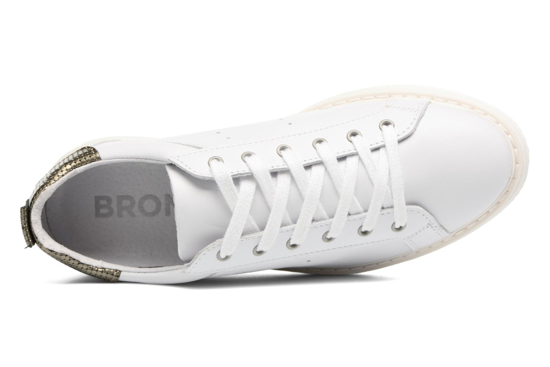 Baskets Bronx Bduckx Blanc vue gauche