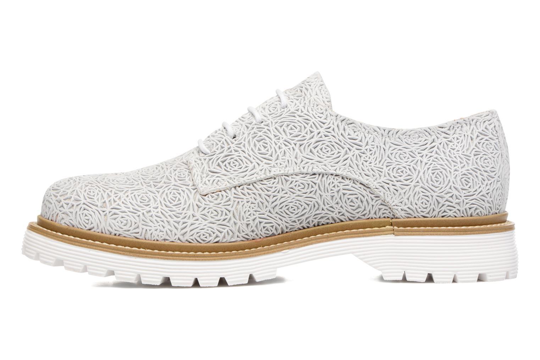 Chaussures à lacets Bronx Brifka-Chun Blanc vue face