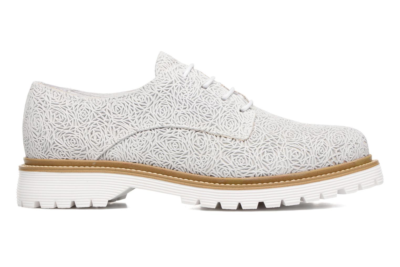 Chaussures à lacets Bronx Brifka-Chun Blanc vue derrière