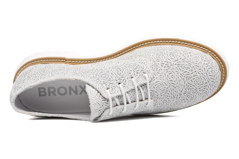 Chaussures à lacets Bronx Brifka-Chun Blanc vue gauche