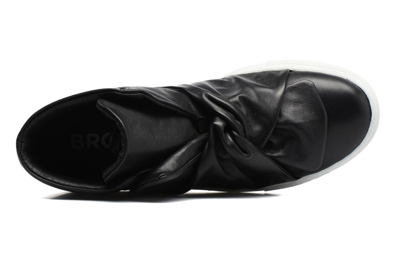 Sneaker Bronx Byardenx 3 schwarz ansicht von links