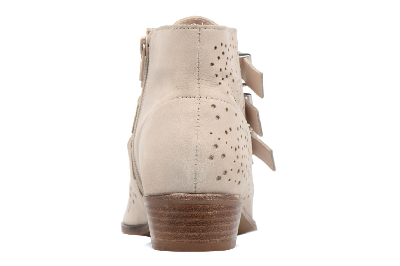 Bottines et boots Bronx Brezax Beige vue droite