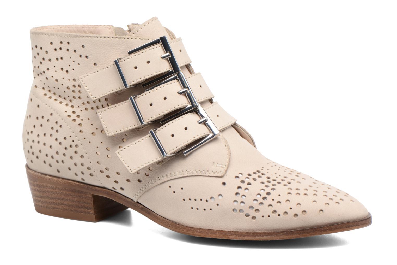 Bottines et boots Bronx Brezax Beige vue détail/paire