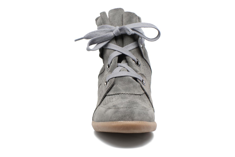 Sneaker Bronx Braffx grau schuhe getragen