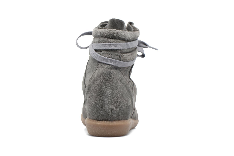 Sneaker Bronx Braffx grau ansicht von rechts