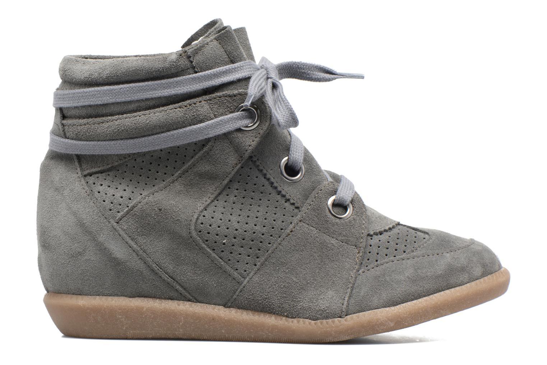 Sneaker Bronx Braffx grau ansicht von hinten