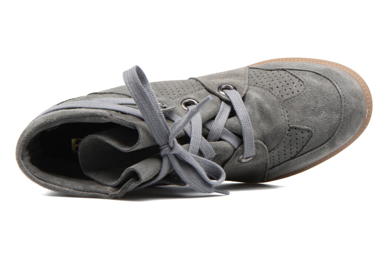 Sneaker Bronx Braffx grau ansicht von links