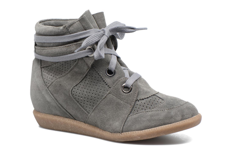 Sneaker Bronx Braffx grau detaillierte ansicht/modell