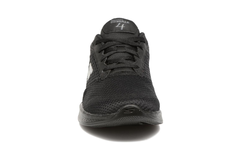 Baskets Skechers GO Walk 4 Exceed Noir vue portées chaussures