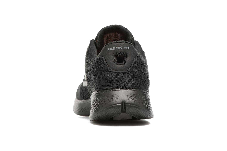 Baskets Skechers GO Walk 4 Exceed Noir vue droite