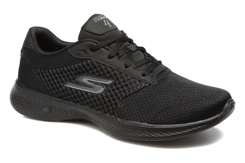 Baskets Skechers GO Walk 4 Exceed Noir vue détail/paire