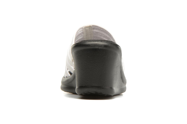 Clogs & Pantoletten Skechers Rumblers Hotshot weiß ansicht von rechts