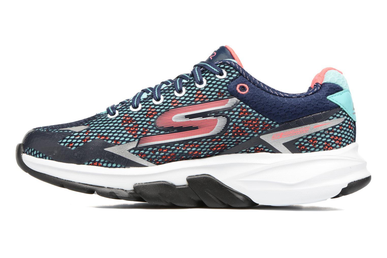 Chaussures de sport Skechers GO Meb Strada 2 Bleu vue face