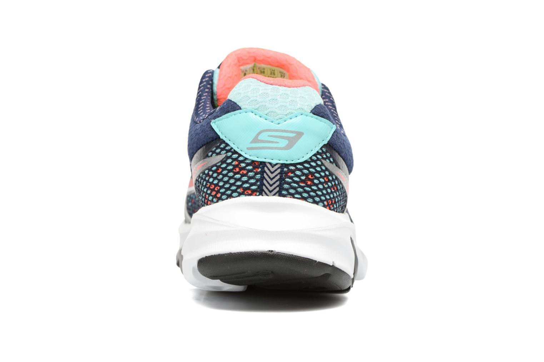 Chaussures de sport Skechers GO Meb Strada 2 Bleu vue droite