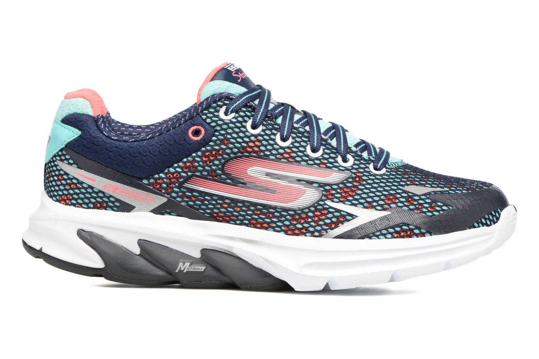 Chaussures de sport Skechers GO Meb Strada 2 Bleu vue derrière