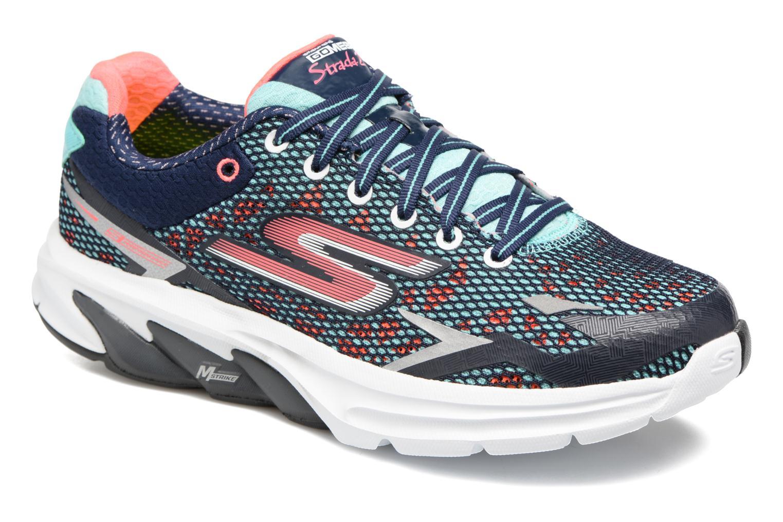 Chaussures de sport Skechers GO Meb Strada 2 Bleu vue détail/paire