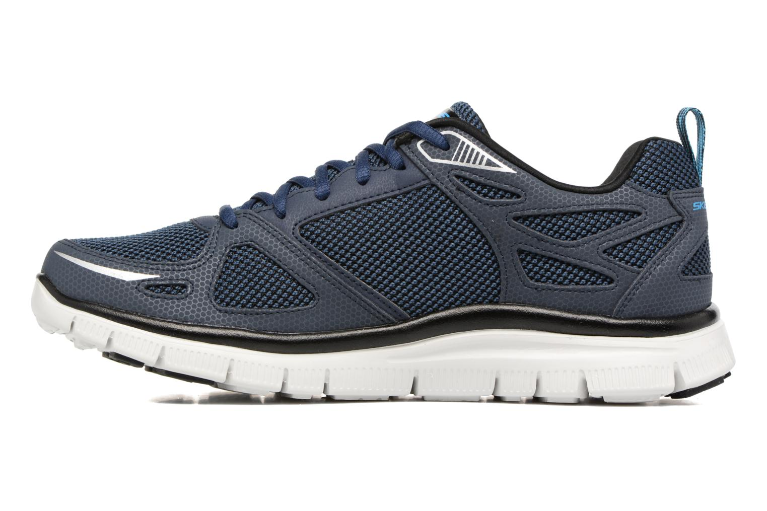 Chaussures de sport Skechers Flex Advantage First Team Bleu vue face