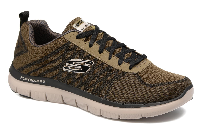 Chaussures Skechers Flex advantage vertes Casual homme yfgpF0JlKF