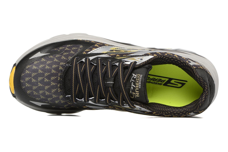 Scarpe sportive Skechers Go Run Ride 5 Nero immagine sinistra