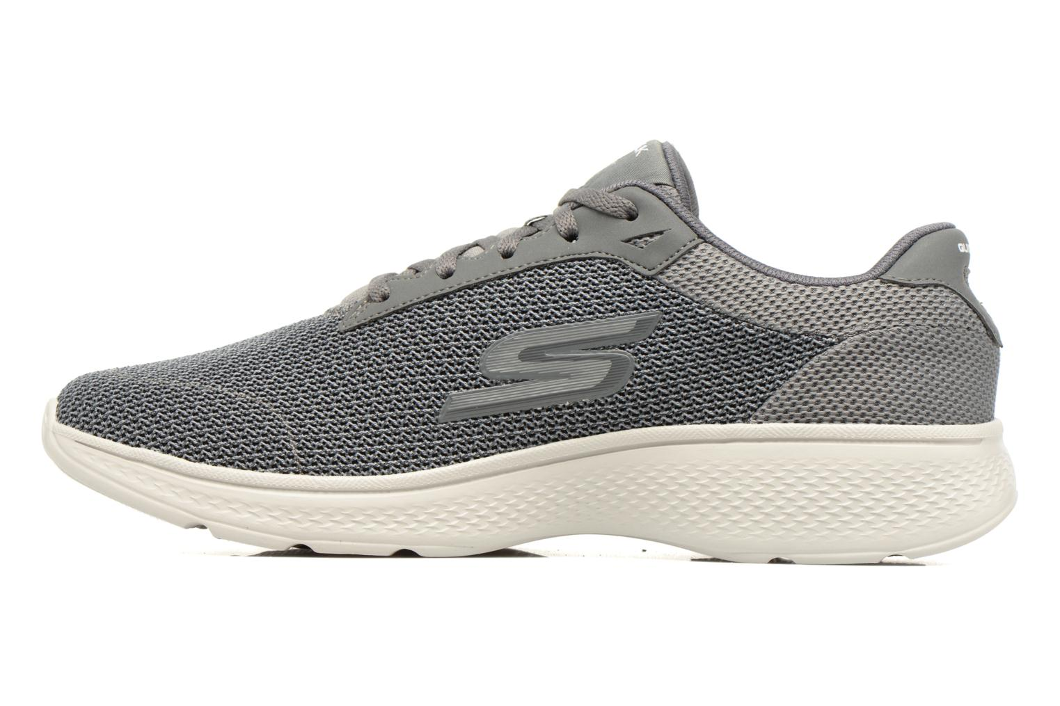Sport shoes Skechers Go Walk 4 H Grey front view
