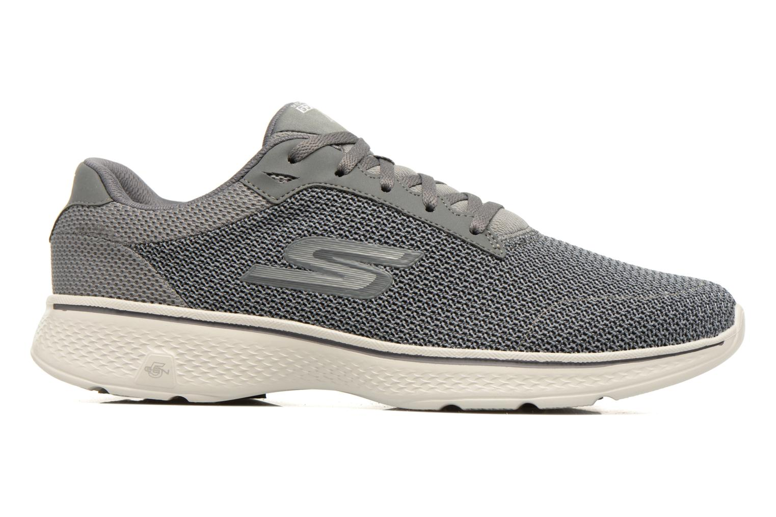 Sport shoes Skechers Go Walk 4 H Grey back view