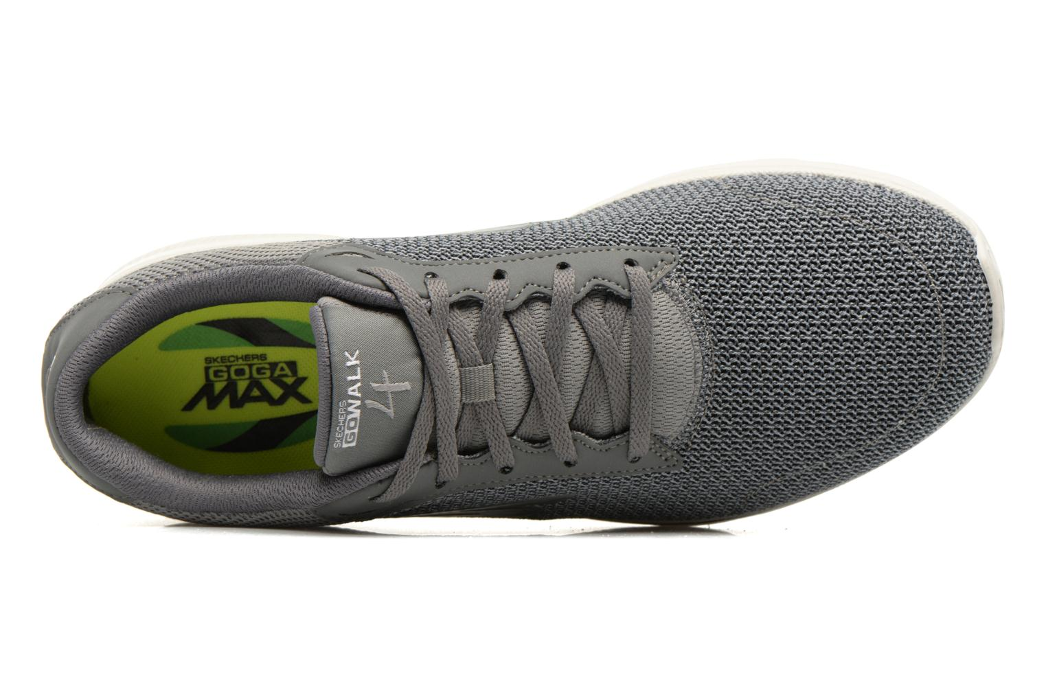 Sport shoes Skechers Go Walk 4 H Grey view from the left