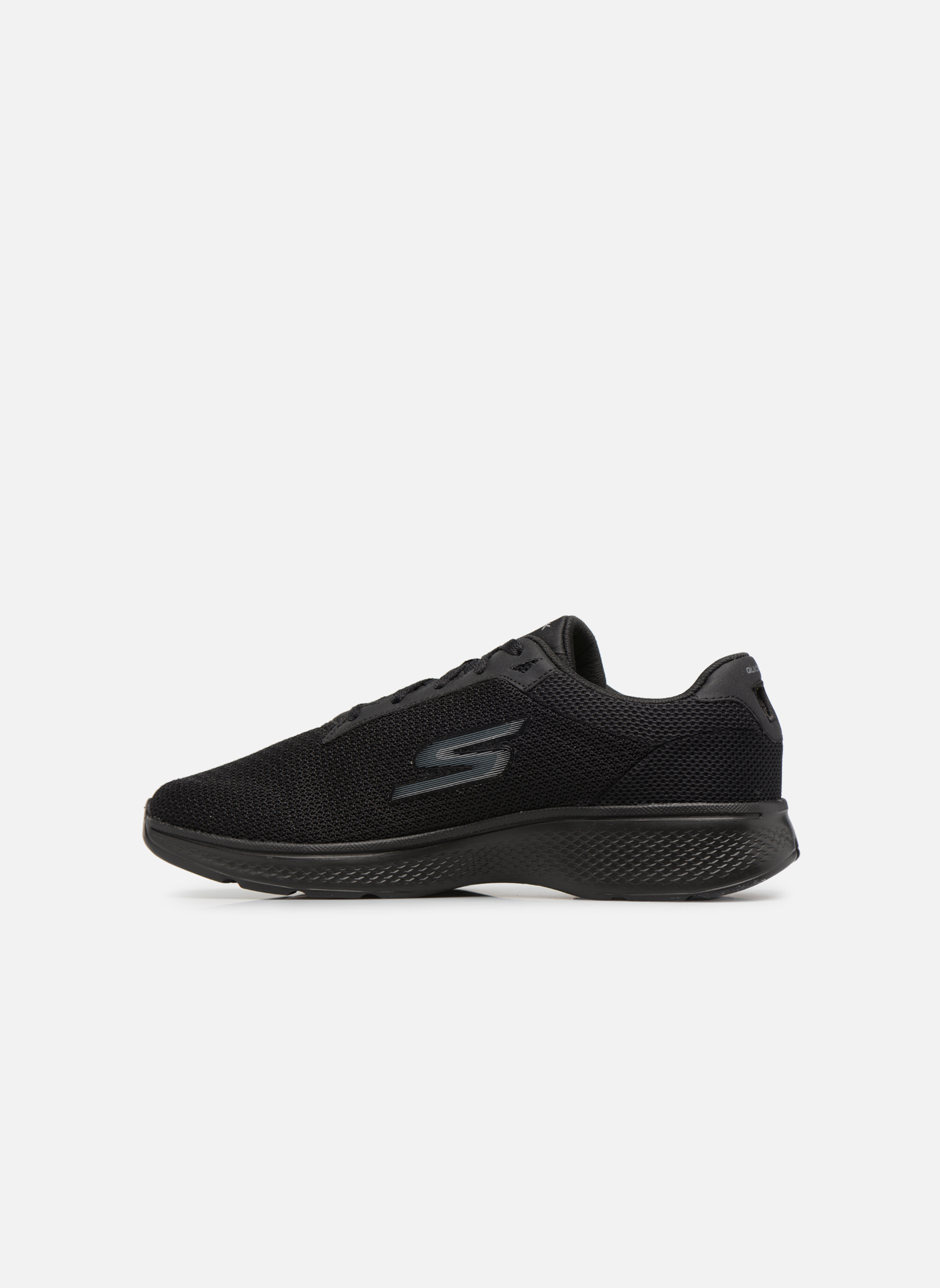 Sport shoes Skechers Go Walk 4 H Black front view
