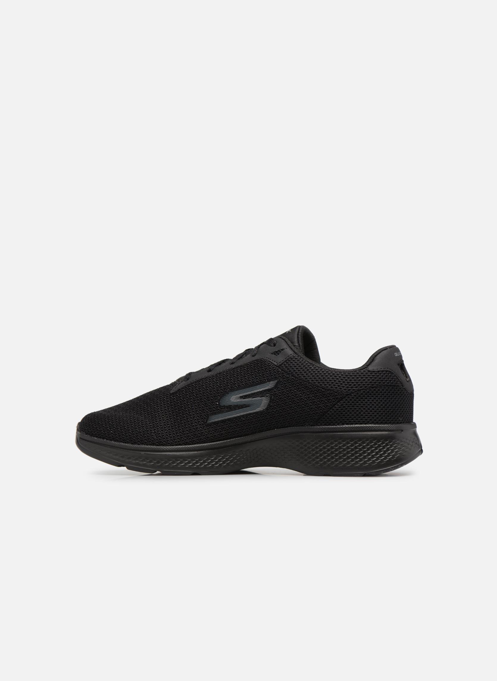 Zapatillas de deporte Skechers Go Walk 4 H Negro vista de frente