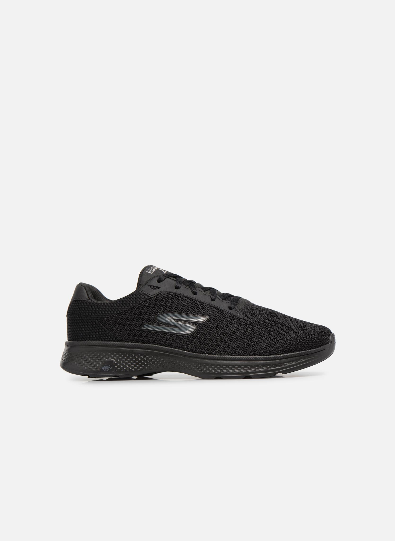 Sport shoes Skechers Go Walk 4 H Black back view