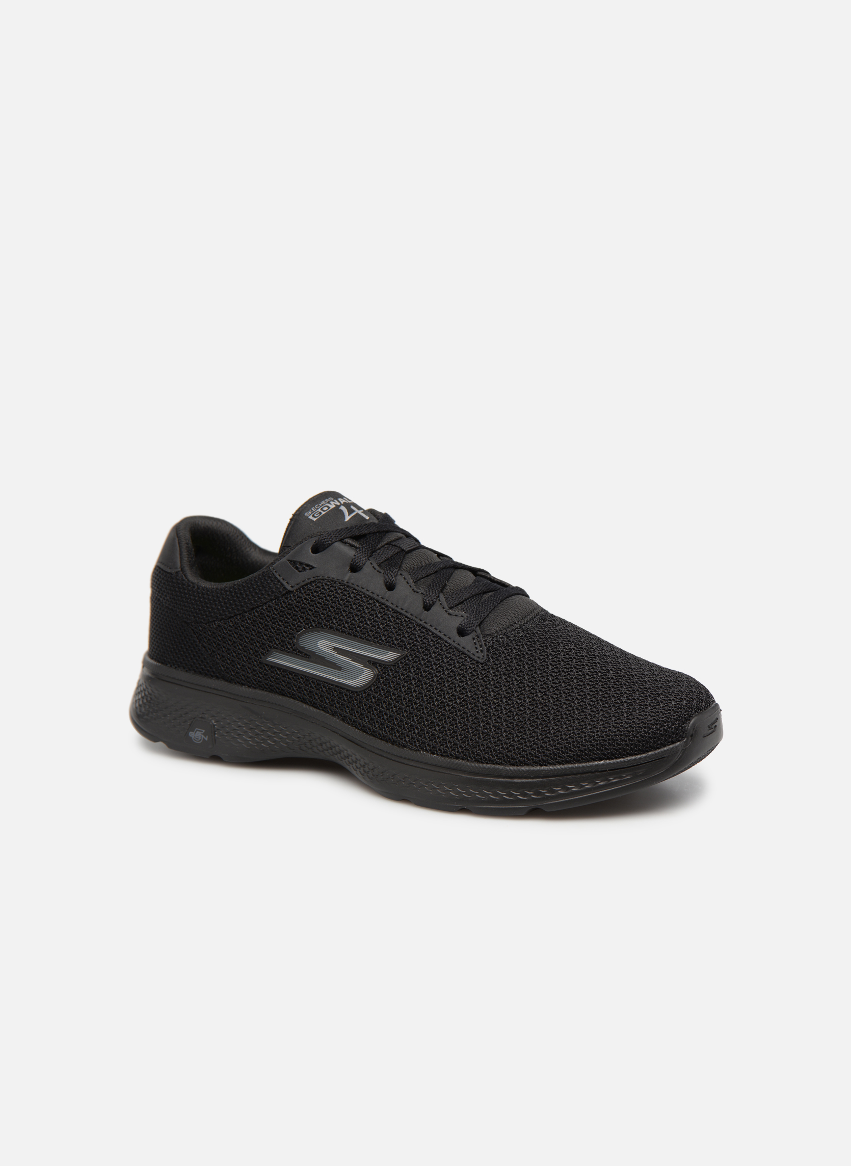 Sport shoes Skechers Go Walk 4 H Black detailed view/ Pair view