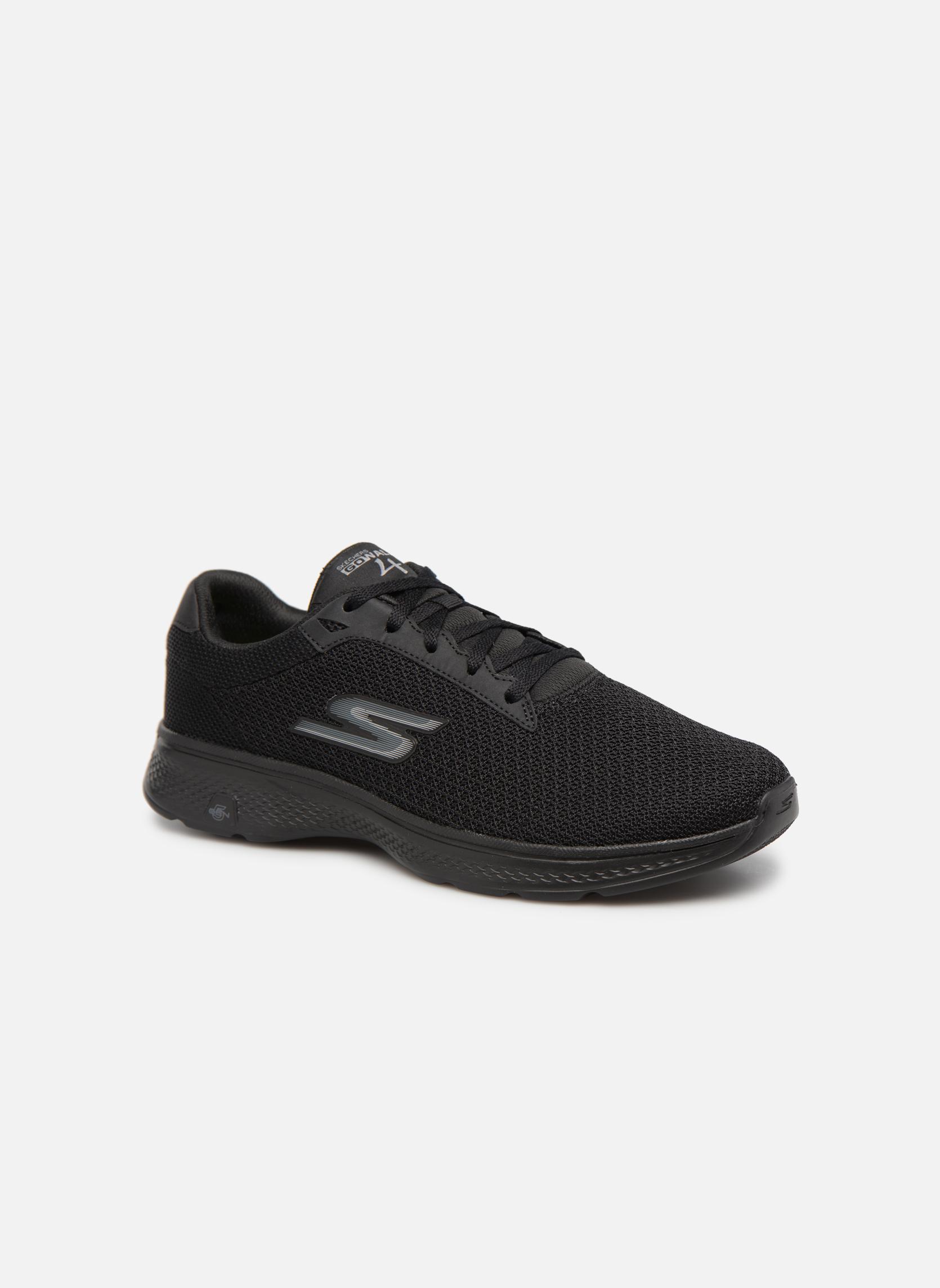 Zapatillas de deporte Skechers Go Walk 4 H Negro vista de detalle / par