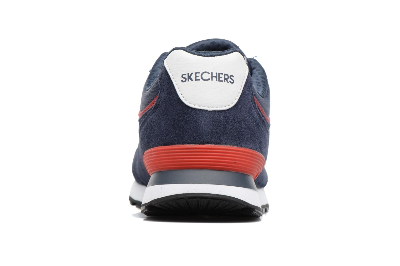 Deportivas Skechers OG 82 Azul vista lateral derecha