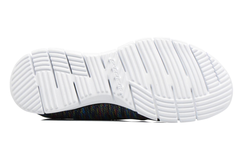 Chaussures de sport Skechers Glider Deep Space Noir vue haut
