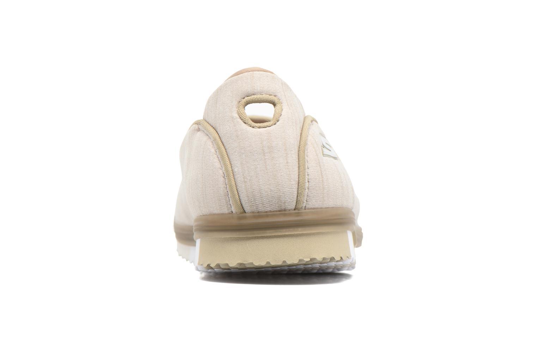 Baskets Skechers Go Mini Flex Beige vue droite