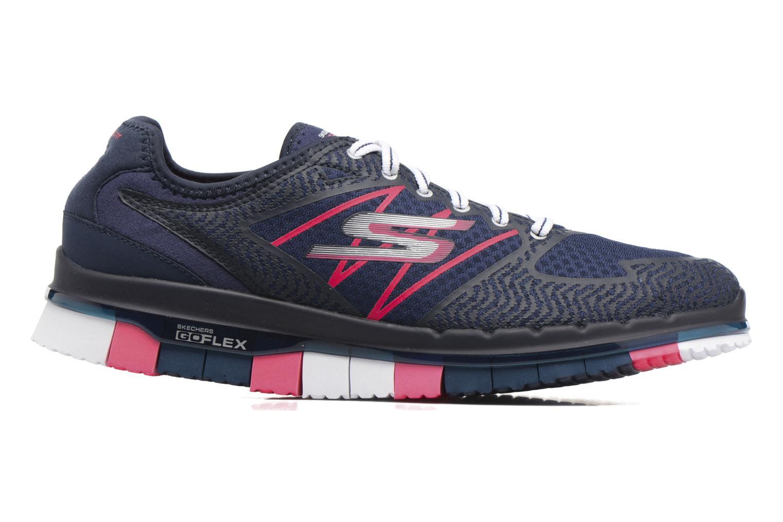 Chaussures de sport Skechers GO Flex Momentum Bleu vue derrière