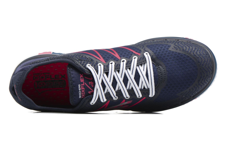 Chaussures de sport Skechers GO Flex Momentum Bleu vue gauche