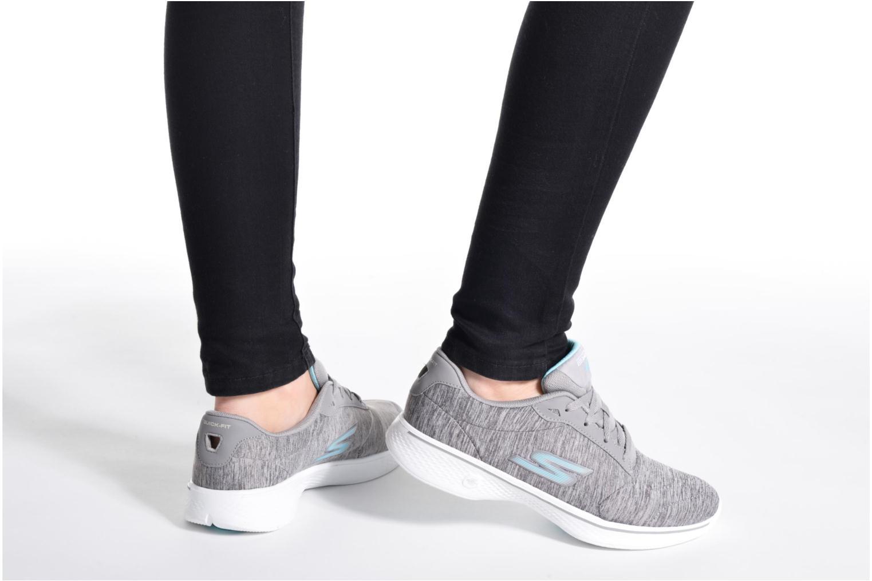 Sneakers Skechers GO Walk 4 serenity Grå bild från under