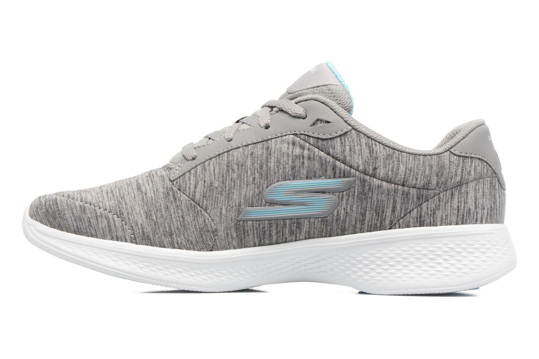 Sneakers Skechers GO Walk 4 serenity Grå bild från framsidan