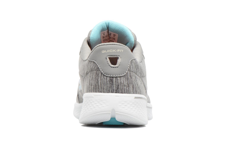 Sneakers Skechers GO Walk 4 serenity Grå Bild från höger sidan