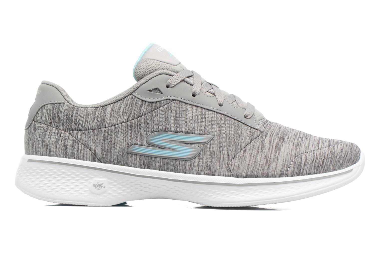 Sneakers Skechers GO Walk 4 serenity Grå bild från baksidan