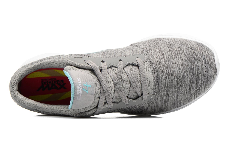 Sneakers Skechers GO Walk 4 serenity Grå bild från vänster sidan