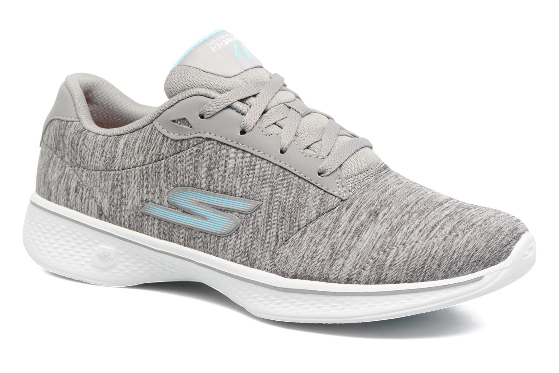 Sneakers Skechers GO Walk 4 serenity Grå detaljerad bild på paret